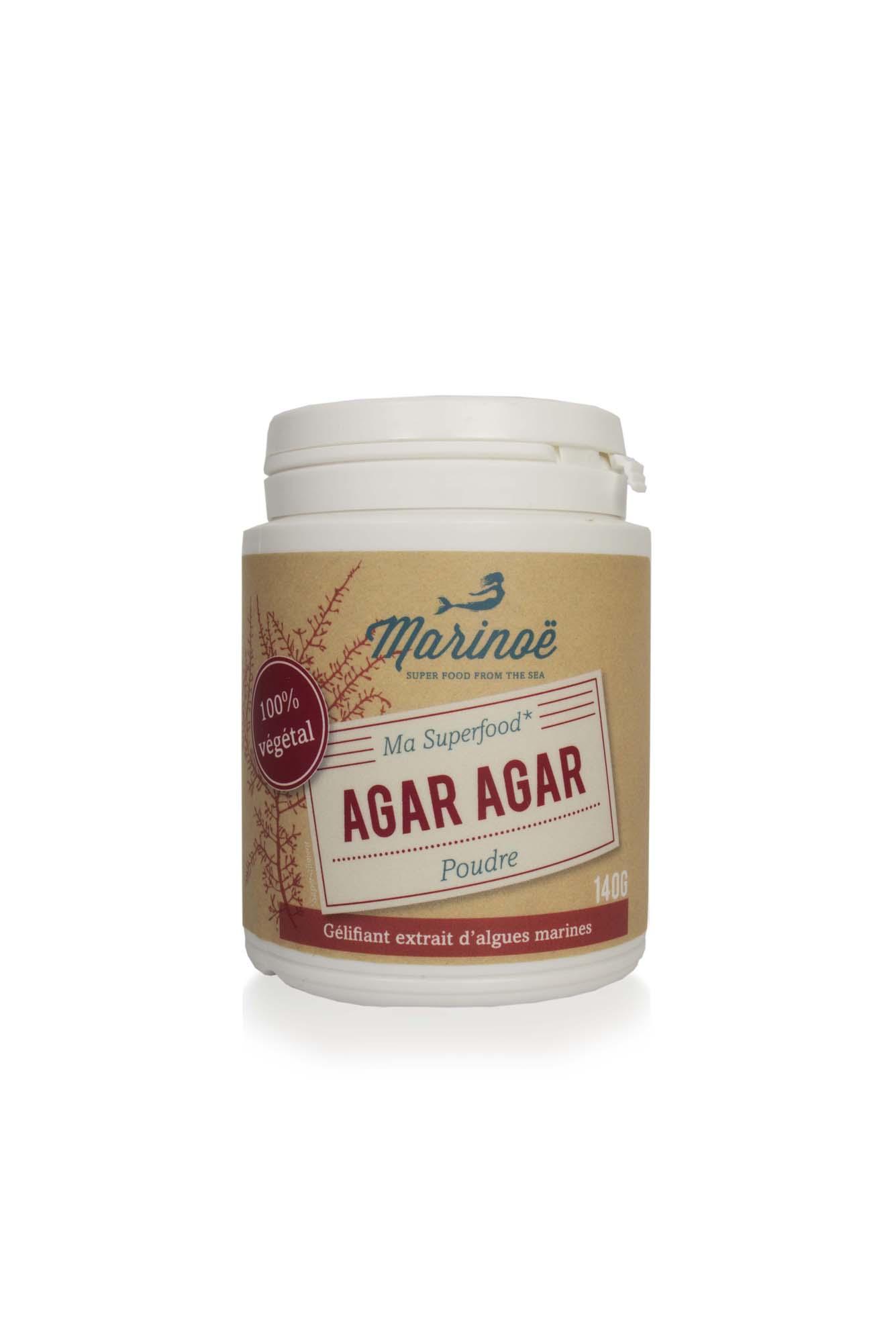 agar agar is obtained from