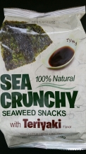 Nori seaweed snacks teriyaki 12-pack box