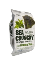Nori seaweed snacks green tea 12-pack box